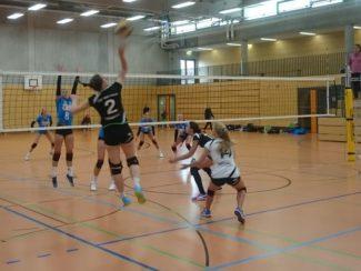 TSV Volleyball Damen gewinnen im Hessenpokal 2019 das Viertelfinale