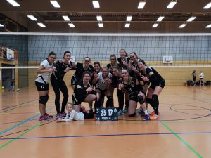 Volleyball Damen 1 TSV Hanau Regionalliga gegen Eintracht Frankfurt 12.10.2019