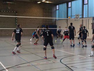 Volleball Herren Bezirksoberliga TSV Hanau - TV Hartendord