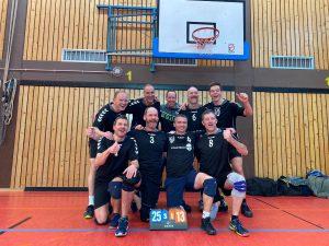 Die Volleyballer des TSV 1860 Hanau erfolgreich im Lokalderby gegen TG Hanau 09.02.2020