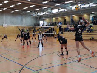 Damen 1 Volleyball gegen VC Wiesbaden