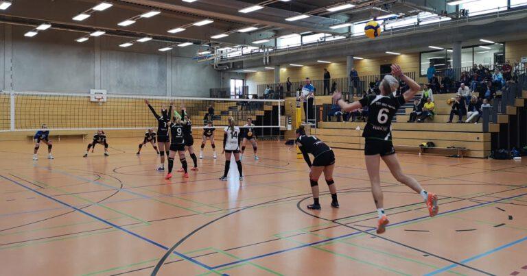 Saisonauftakt Volleyballer Damen geglückt