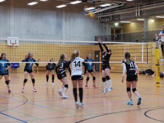 Damen1 Volleyball Regionalliga 10.10.2020 gegen Auerbach